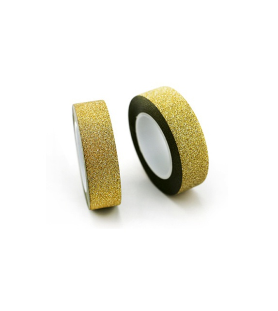 Masking Tape Paillettes - Or 10 m