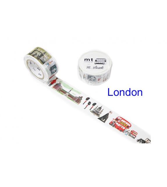 Masking Tape mt Large - London by Miroslav Sasek