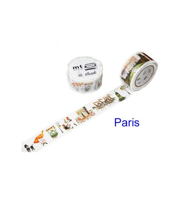 Masking Tape mt Large - Paris by Miroslav Sasek