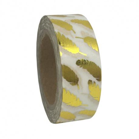 Masking Tape Foil Tape - Plumes or