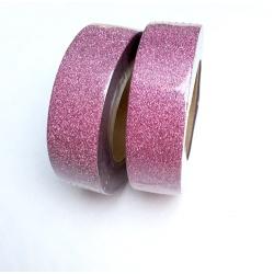 Masking Tape Paillettes - Rose Moyen