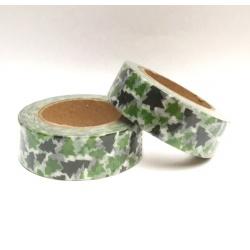 Masking Tape - Arbres de Noël verts