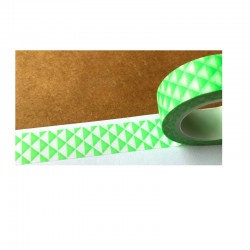 Masking tape - Triangles - vert vif