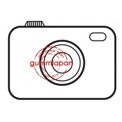 Tampon Gummiapan - Kamera