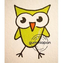 Tampon Gummiapan - Petit Hibou
