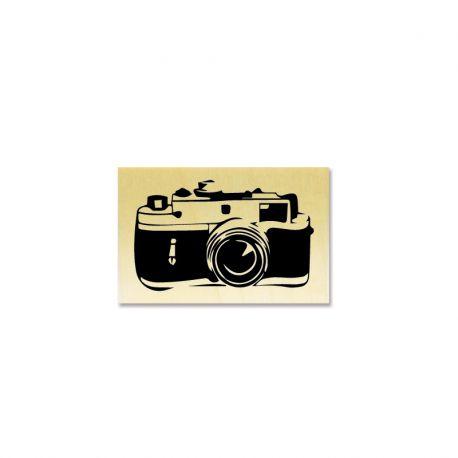 Rubber stamp - retro camera