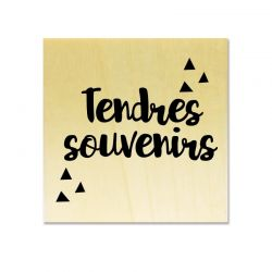 Rubber stamp - Gwen Scrap Collection 5 - Tendres Souvenirs
