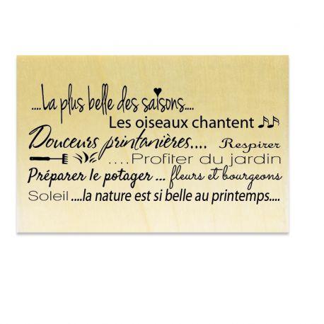 Texte Printemps - Scrapanescence - Collection 6