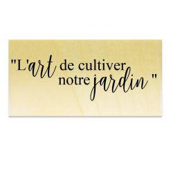 l'art de cultiver notre jardin - Scrapanescence - Collection 6