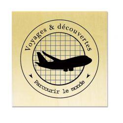 Rubber stamp - Scrapanescence - Voyages et découvertes - Parcourir le monde