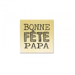 Rubber stamp - Gwen Scrap Collection 2- Bonne fête papa