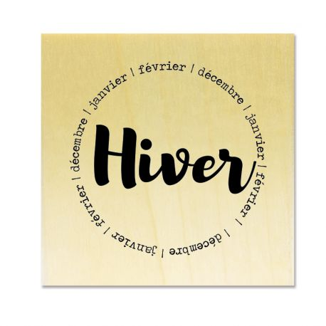 Gwen Scrap collection 4 - Hiver -décembre - janvier - février (en rond)