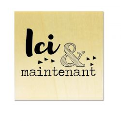 Rubber stamp - Gwen Scrap Collection 2- Ici & maintenant