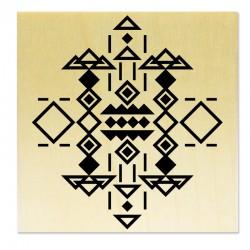 Rubber stamp -Joyeux Anniversaire
