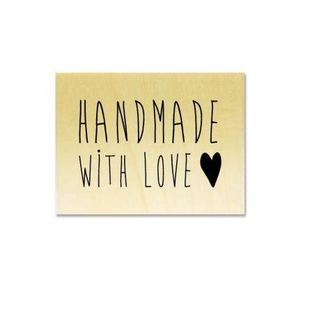 handmade with love coeur