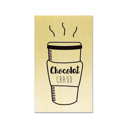 Rubber stamp - Gwen Scrap Collection 6 - Hot Chocolate