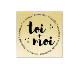 Gwen Scrap collection 2 - toi + moi ensemble (en rond)