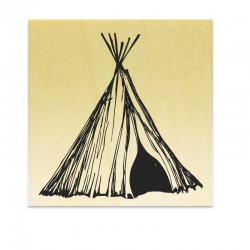 Tampon Tente Teepee