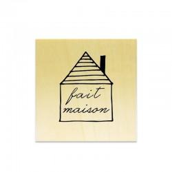 Rubber stamp - Fait Maison