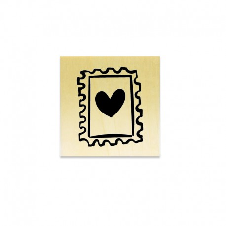 Rubber stamp - Heart Stamp