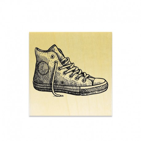 Rubber stamp - Sneakers solo