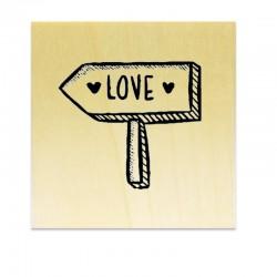 Tampon Panneau Love