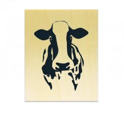 Tampon vache de face