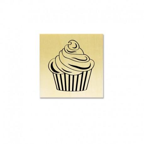 Rubber stamp - Cupcake