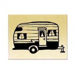Tampon Caravane rétro