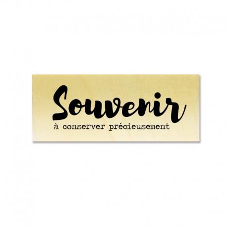Rubber stamp - Gwen Scrap Collection 2- Souvenir à conserver précieusement