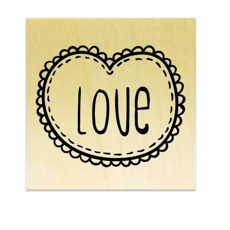 Rubber stamp - Love Frame N°3
