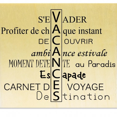 VACANCES - Scrapanescence - Collection 7