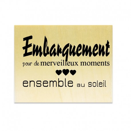 Embarquement - Scrapanescence - Collection 7