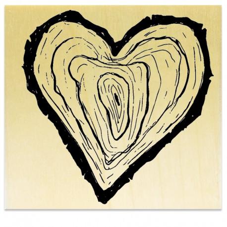 Tronc d'arbre Coeur