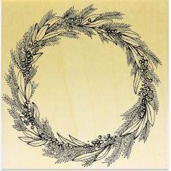 COLLECTION - Branches Hivernales - Couronne de Sapin et Houx