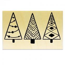 Trois Sapins de Noël Graphiques