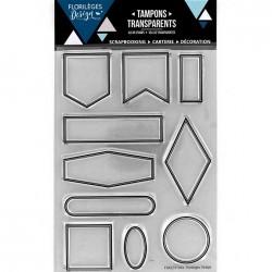 Tampon Clear Florilèges Design - Dix Eiquettes