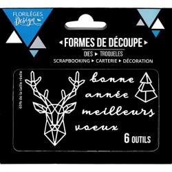 Die Florilèges Design - Cerf Gépmétrique