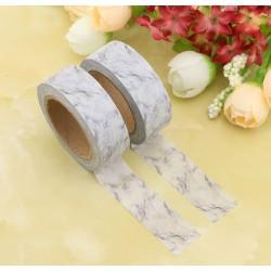 Masking Tape - Marbre gris et blanc
