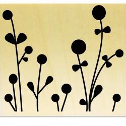 COLLECTION - Silhouettes de Plantes - Plante à petits neouds et ronds
