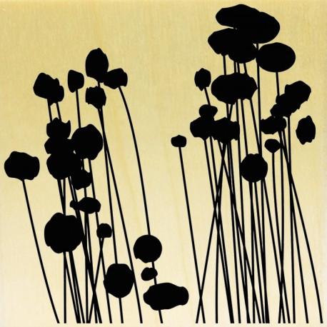 COLLECTION - Silhouettes de Plantes - Fleurs de Coton