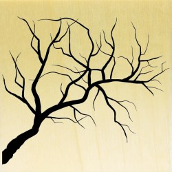 COLLECTION - Silhouettes de Plantes - Branche d'arbre