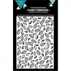 Plaque d'embossage Feuilles emmêlées - 10,5 x 14,5 cm
