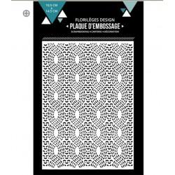 Plaque d'embossage Lainage - 10,5 x 14,5 cm