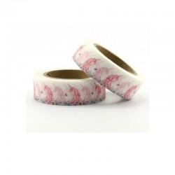 Masking Tape - Licornes Roses