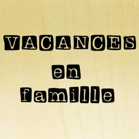 COLLECTION - Lovely Family - Vacances en famille