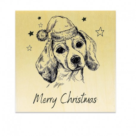 COLLECTION - Classic Christmas - Chien Merry Christmas