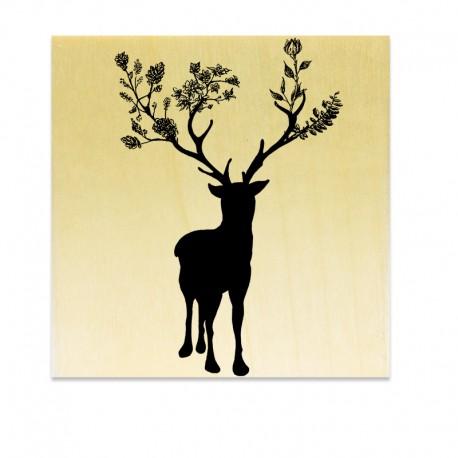COLLECTION - Classic Christmas - Cerf Fleuri