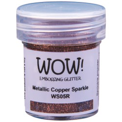 Poudre à embosser Wow - Metallic Copper Sparkle (Cuivré paillette)