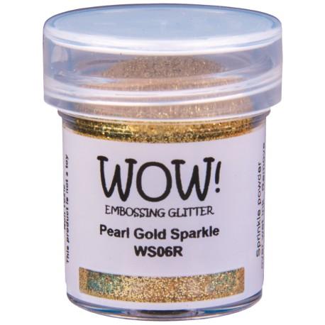 Poudre à embosser Wow - Pearl Gold Sparkle (Or Paillettes)